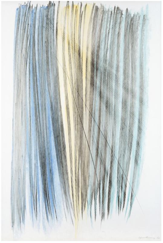 Hans HARTUNG - Drawing-Watercolor - P1960-303