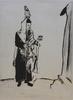 Marc CHAGALL - Estampe-Multiple - The Rabbi, from: My Life | Der Rabbi, aus: Mein Leben
