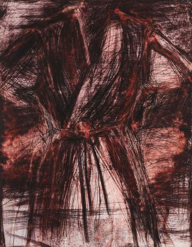 Jim DINE - Print-Multiple - Robe in a Furnace