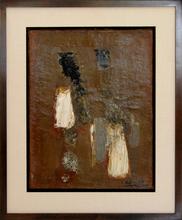 Léon ZACK - Painting - Harmonie Gris Brun