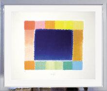 海因茨·马克 - 版画 - Blue Field