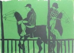 """Pedro SOBRADO - Print-Multiple - ·carreras/hipica"""""""