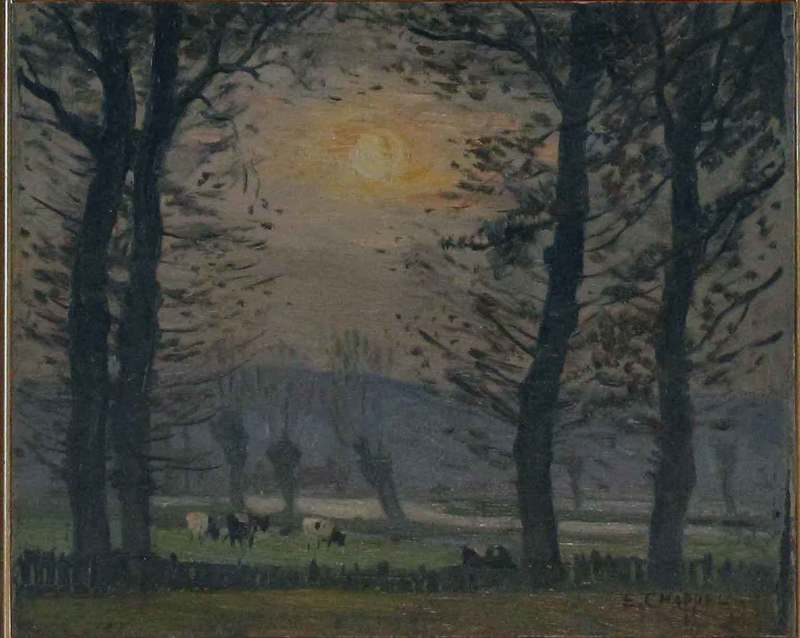 Edward CHAPPEL - Peinture - Autunno