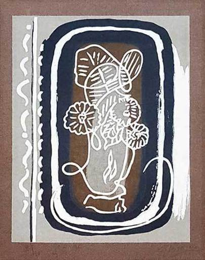 Georges BRAQUE - Print-Multiple - Fleurs
