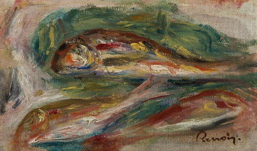 Pierre-Auguste RENOIR - Pittura - Rougets - Fragment