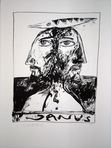 John BELLANY - Druckgrafik-Multiple - The Call of the Sea 5 - Janus
