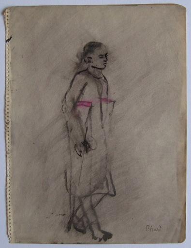 Christian Jacques BERARD - Zeichnung Aquarell - GOUACHE ENCRE ET LAVIS SIGNÉ SIGNED GOUACHE INK DRAWING