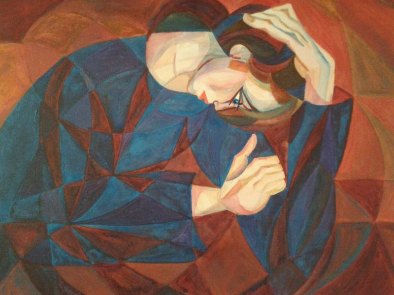 Edith STÜTZ - Pintura - Thinking