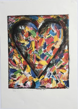Jim DINE (1935) - The Confetti Heart