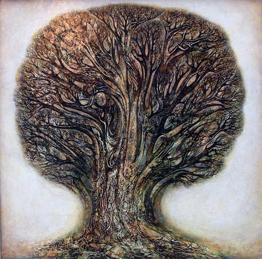 Amur KOCHISHVILI - Painting - Tree