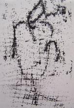 Hannah HÖCH - Drawing-Watercolor - Die Erleutete/ The Enlightened