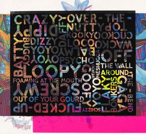 Mel BOCHNER - Estampe-Multiple - Crazy (With Background Noise)