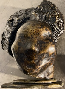Sava BOTZARIS - Sculpture-Volume - Tête de Femme