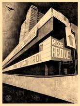 Shepard FAIREY - Grabado - 'Rise Above'