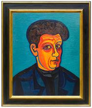 Josef SCHARL - Painting - Selbstporträt