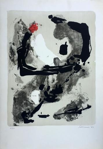 Giuseppe SANTOMASO - Grabado - Abstraction