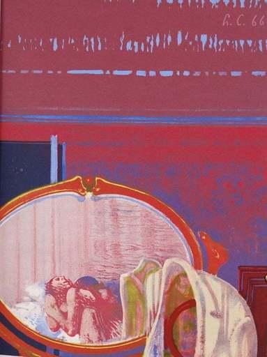 Leonardo CREMONINI - Print-Multiple - De l'autre côte du miroir