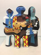 EQUIPO CRÓNICA - Sculpture-Volume - Los tres músicos