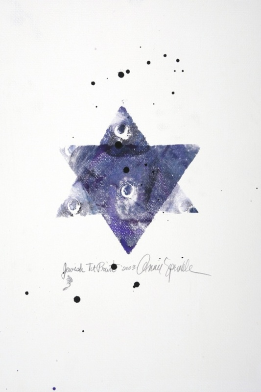 Annie SPRINKLE - Pintura - Jewish Tit print