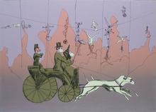 Robert W. MUNFORD - Grabado - Acrobats