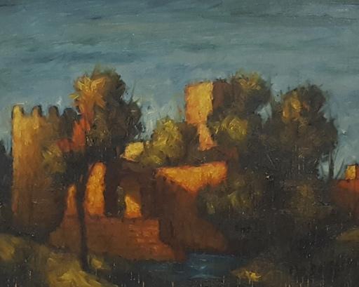 Angilotto Ermagora MODOTTO - Peinture - Castello sul Mare