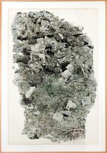 Jean-Paul AGOSTI - Drawing-Watercolor - Tao, vert et noir