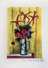 Bernard BUFFET (1928-1999) - FLOWER BOUQUET