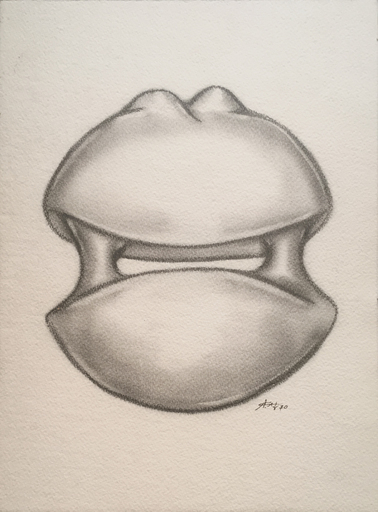 Augustin CARDENAS - Dessin-Aquarelle - Composizione, 1970