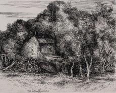 Lino BIANCHI BARRIVIERA - Estampe-Multiple - Untitled