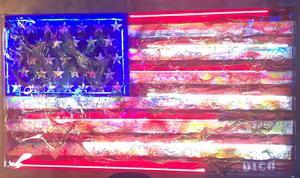 Enrico DICÒ - Peinture - American Flag