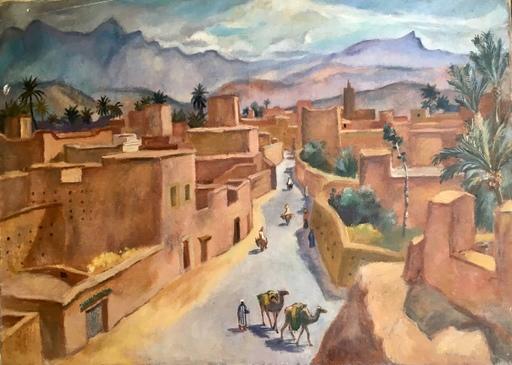 Maurice TISSEYRE - Painting - Orientaliste