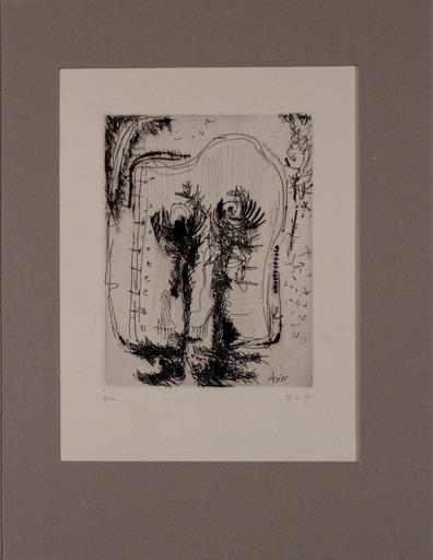 Rodolfo NIETO - Druckgrafik-Multiple - Senza titolo da L 'Avanguardia internazionale', vol. 4
