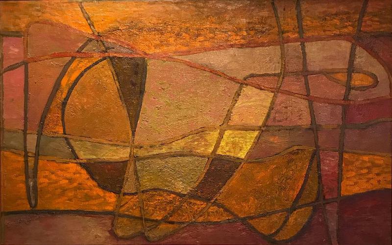 Paul ACKERMAN - Painting - La Clé de Sol,