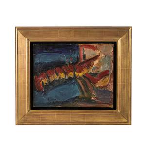 Pierre AMBROGIANI - Pintura - Lobster