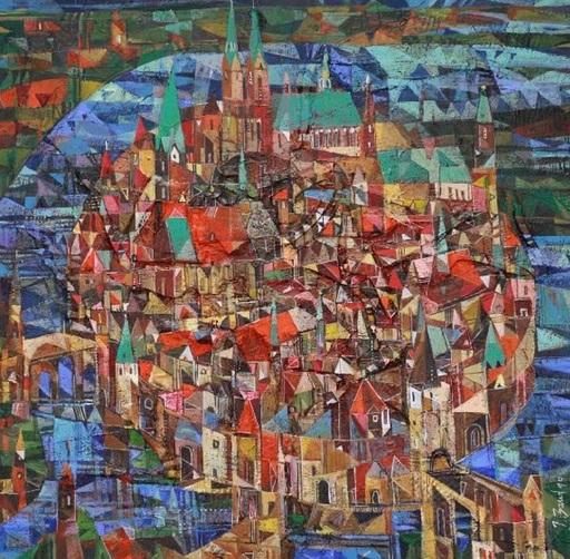 Iris BAND - Painting - Hansestadt