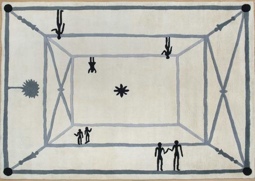 迭戈•贾科梅蒂 - 挂毯 - La rencontre