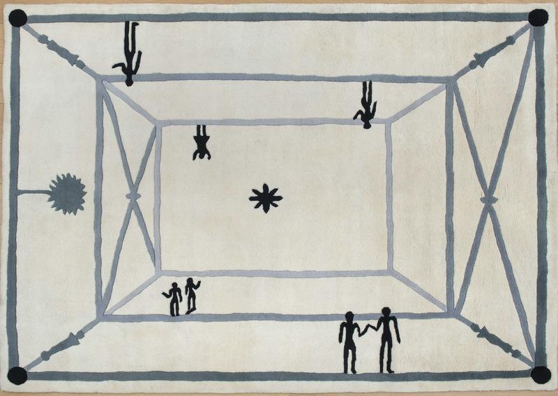 Diego GIACOMETTI - Tapestry - La rencontre