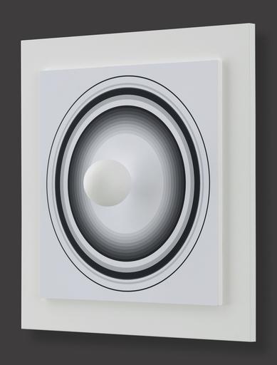 Antonio ASIS - 版画 - Asistype 3 - boule sur cercle