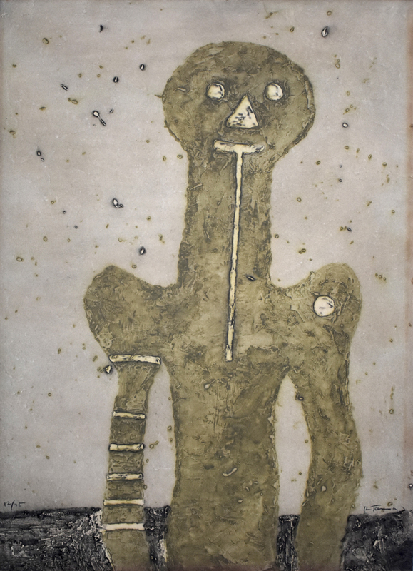 Rufino TAMAYO - Estampe-Multiple - Torso, from: 15 Etchings |Torso: 15 Aguafuertes