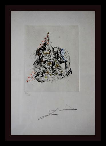 萨尔瓦多·达利 - 版画 - Fantoms Le Soupirant