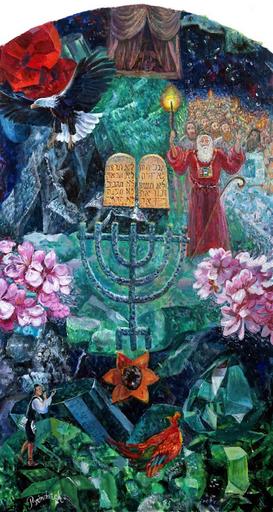 Victor BRINDATCH - Peinture - LEVI tribe of 12 ISRAEL tribes