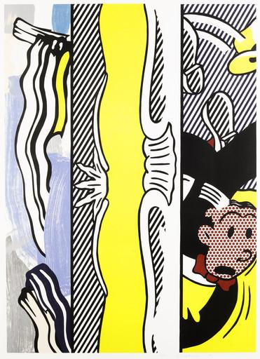 Roy LICHTENSTEIN - Stampa-Multiplo - Two Paintings Dagwood