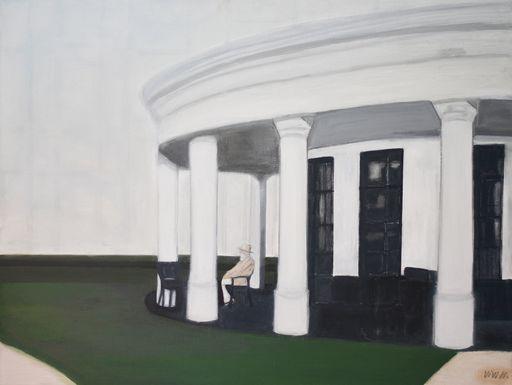 Vivi HERREBOUDT - Painting - A senior resort    (Cat N° 6366)