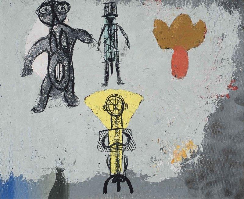 Victor BRAUNER - Painting - La récapitulation de l'amour