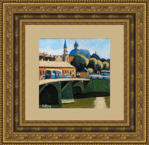 Valeriy NESTEROV - Gemälde - Belinskogo bridge. Leningrad