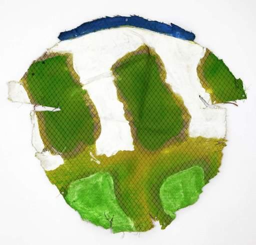 Claude VIALLAT - Painting - 2011-379
