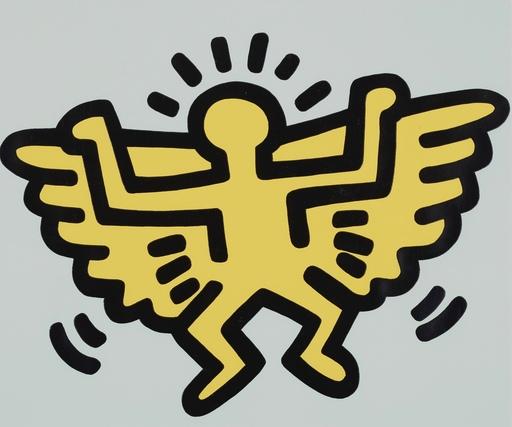 Keith HARING - Grabado - Angel from Icons Portfolio