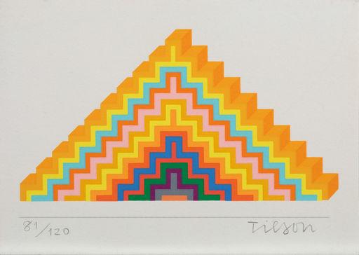 Joe TILSON - Grabado - Ziggurath