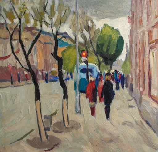 Valeriy NESTEROV - Painting - Saratov-3