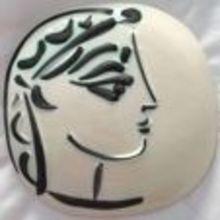 巴勃罗•毕加索 - 陶瓷  - Profil de Jacqueline
